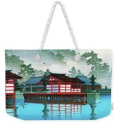 Miyajima In The Mist - Digital Remastered Edition Weekender Tote Bag