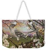 Mockingbird Sunset Weekender Tote Bag