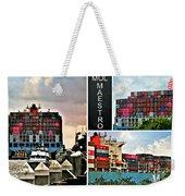 Mol Maestro Collage Weekender Tote Bag