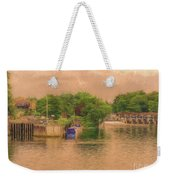 Molesey Lock And Weir Weekender Tote Bag