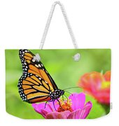 Monarch Butterfly Square Weekender Tote Bag