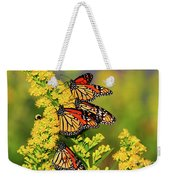 Monarch Gathering 2 Weekender Tote Bag