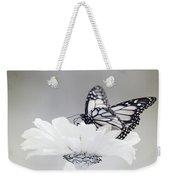 Monarch In Infrared 5 Weekender Tote Bag by Brian Hale
