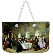 Monastic Refectory Weekender Tote Bag