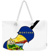 Montana State Fiddle Weekender Tote Bag