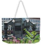 Monument Square Weekender Tote Bag