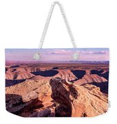 Monument Valley At A Distance Weekender Tote Bag