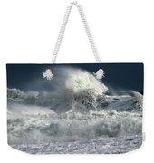 Moody Ocean Weekender Tote Bag