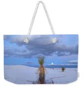 Moon And Soaptree Yucca, White Sands Weekender Tote Bag