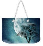 Moon Blues Weekender Tote Bag