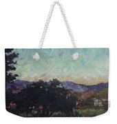 Moonlight Ranch Weekender Tote Bag