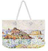 Morlaix, Entrance Of The River - Digital Remastered Edition Weekender Tote Bag