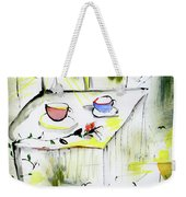 Morning By The Artist Catalina Lira Weekender Tote Bag