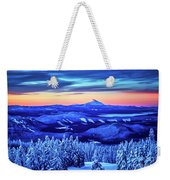 Morning From Timberline Lodge Weekender Tote Bag