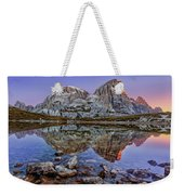 Morning On Laghi Dei Piani Weekender Tote Bag by Dmytro Korol