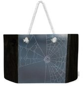 Morning Spider Web Weekender Tote Bag