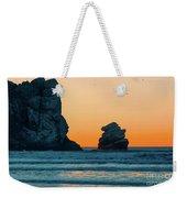 Morro Bay Sunset Weekender Tote Bag