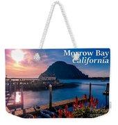 Morrow Bay California Weekender Tote Bag