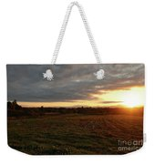 Mount Mansfield September Sunrise Seven Weekender Tote Bag