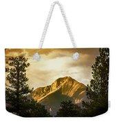 Mount Pagosa Gold Weekender Tote Bag