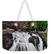 Mount Tremblant Waterfall Weekender Tote Bag