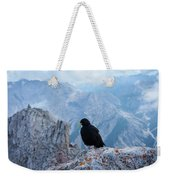 Mountain Jackdaw Weekender Tote Bag