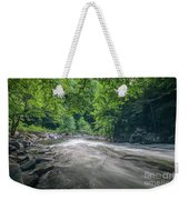 Mountain Stream In Summer #1 Weekender Tote Bag by Tom Claud