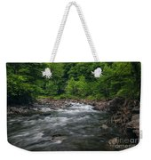 Mountain Stream In Summer #2 Weekender Tote Bag by Tom Claud