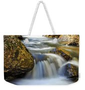 Mountain Stream Waterfall  Weekender Tote Bag