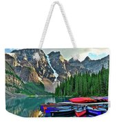 Mountain Tranquility Weekender Tote Bag
