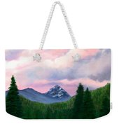 Mountain And Sky Weekender Tote Bag