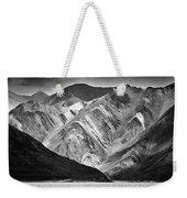 Mountains At Pangong Weekender Tote Bag by Whitney Goodey
