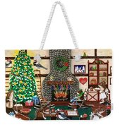 Ms. Elizabeth's Holiday Home Weekender Tote Bag