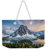 Mt Assinniboine Sunset Weekender Tote Bag