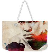 Muhammad Ali Watercolor Portrait Weekender Tote Bag