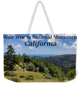 Muir Woods National Monument California Weekender Tote Bag