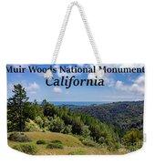 Muir Woods National Monument California Weekender Tote Bag