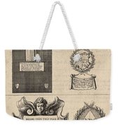 Mullins And Baskerville  Monument   State    Weekender Tote Bag