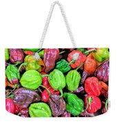 Multi Mini Hot Pepper Variety Weekender Tote Bag