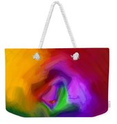 Multiple Colored Abstract By Delynn Addams Weekender Tote Bag