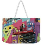 Mural Near The World Trade Center Weekender Tote Bag
