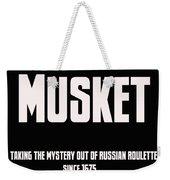 Musket Weekender Tote Bag