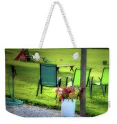 Muzeical Chairz Weekender Tote Bag