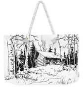 My Cabin In The Woods Weekender Tote Bag