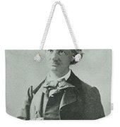 Nadar Portrait Of Charles Baudelaire Weekender Tote Bag