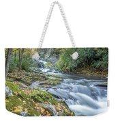 Nantahala Fall Flow Weekender Tote Bag by David R Robinson