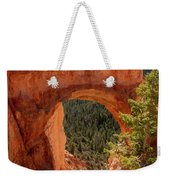 Natural Bridge - Bryce Canyon - Utah - Vertical Weekender Tote Bag