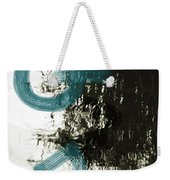 Natural Reflections With Blue Shapes Weekender Tote Bag