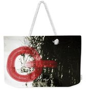 Natural Reflections With Red Shapes Weekender Tote Bag
