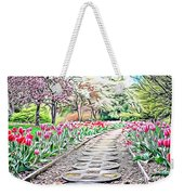 Naturalness And Flowers 36 Weekender Tote Bag